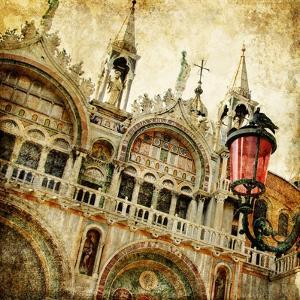 San Marco Square -Artwork In Painting Style by Maugli-l