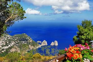 Stunning Capri Island, Bella Italia Series by Maugli-l