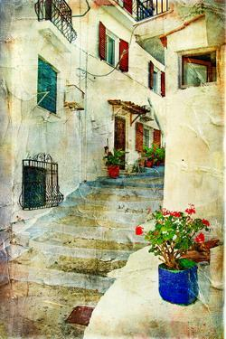 Traditional Greece -Pictorial Streets, Artistic Picture by Maugli-l