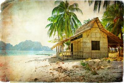 Tropical Bugalow -Retro Styled Picture by Maugli-l