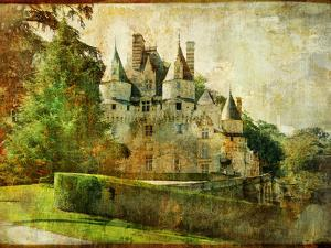 Usse - Fairy Castle Loire' Valley (From My Castle Collection) by Maugli-l