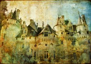 Usse - Fairy Castle Loire' Valley- Picture In Painting Style by Maugli-l