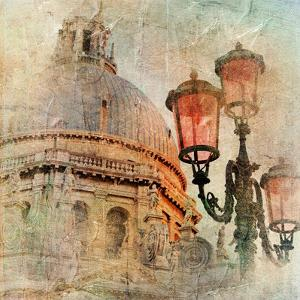 Venetian Pictures - Artwork In Painting Style by Maugli-l