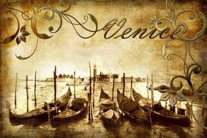 Venetian Pictures - Artwork in Retro Style by Maugli-l