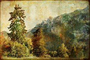 Vintage Landscape by Maugli-l