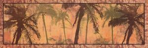 Transparent Palms I by Maura Kendrick