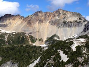 Tapto Lake Beneath Red Face Mountain, North Cascades National Park, Washington by Maureen Eversgerd
