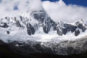 The Peak Taulliraju in Peru's Cordillera Blanca Along the Santa Cruz Trek by Maureen Eversgerd