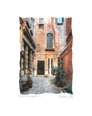 Venice Courtyard by Maureen Love