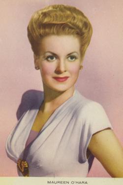 Maureen O'Hara, Irish Actress and Film Star