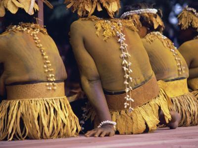 Body Decoration, Tasman Islanders, South Pacific, Pacific