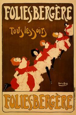 Folies-Bergere, c.1895 by Maurice Biais