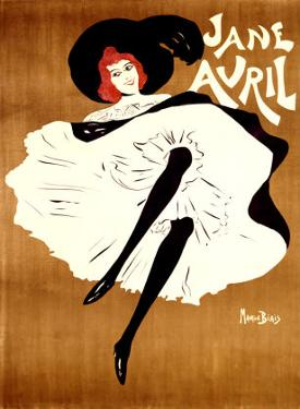 Jane Avril by Maurice Biais