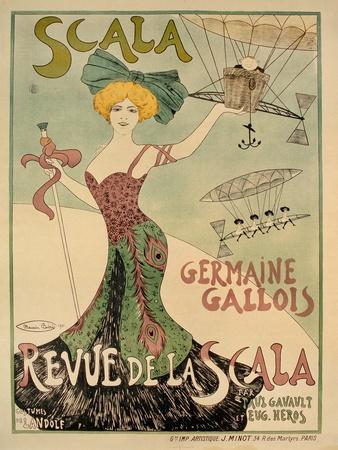Revue de La Scala Poster, 1901