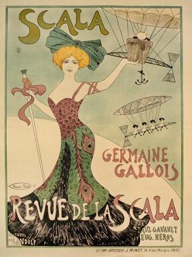Revue de La Scala Poster, 1901 by Maurice Biais
