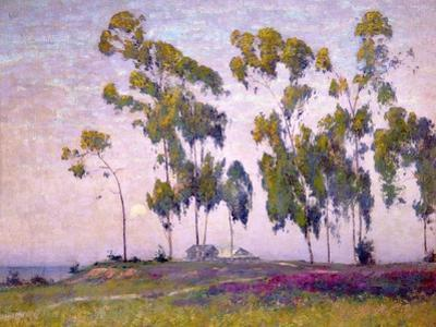 Eucalyptus and Moonrise by Maurice Braun