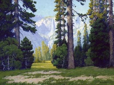 Yosemite Falls by Maurice Braun