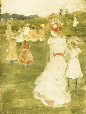 Figures in the Park, C.1895-97 by Maurice Brazil Prendergast