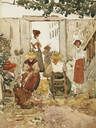 Lacemakers, Venice, 1898