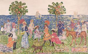 Promenade, 1914/15 by Maurice Brazil Prendergast