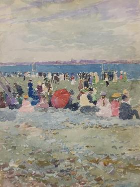 Revere Beach, 1896 by Maurice Brazil Prendergast