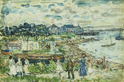 The Cove by Maurice Brazil Prendergast