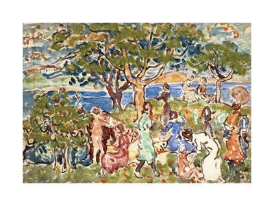 The Picnic, C.1912-15