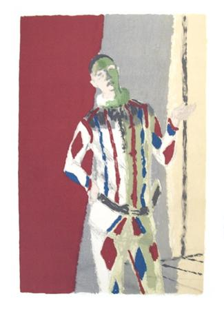 L'Arlequin by Maurice Brianchon