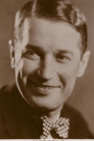Maurice Chevalier, French Actor, Singer and Entertainer