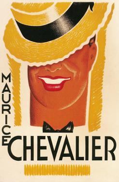 Maurice Chevalier Poster