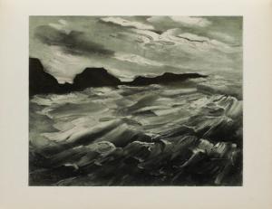 La Baie des Trepasses, 1949 by Maurice De Vlaminck