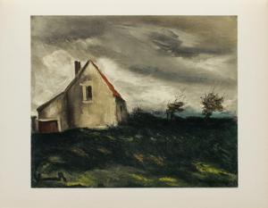 La Maison dans la Plaine, 1949 by Maurice De Vlaminck