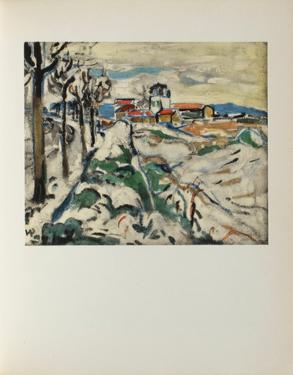 Les Coteaux de Chatou, 1907 by Maurice De Vlaminck
