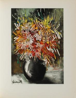 Les Reines-Marguerites, 1955 by Maurice De Vlaminck