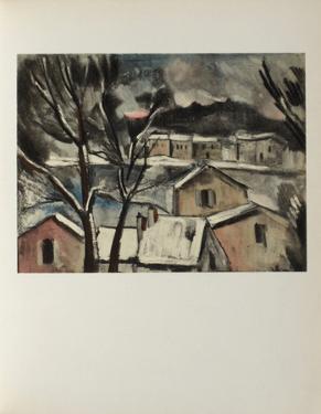 Paysage d'Hiver, 1908 by Maurice De Vlaminck