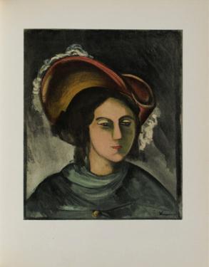 Portrait de Madeleine, 1912 by Maurice De Vlaminck