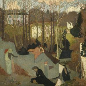 Easter Mystery, Mystère de Pâques, 1891 by Maurice Denis