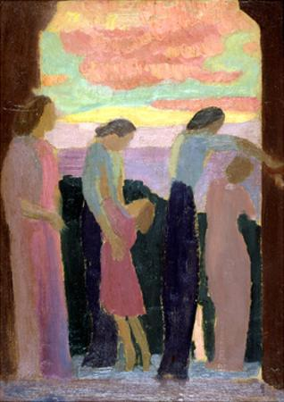 Marthe Denis and the Children on the Balcony, C1900-1940