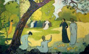 Panels for a Girl's Bedroom: July by Maurice Denis