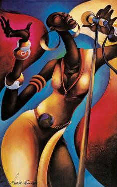 The Songstress by Maurice Evans