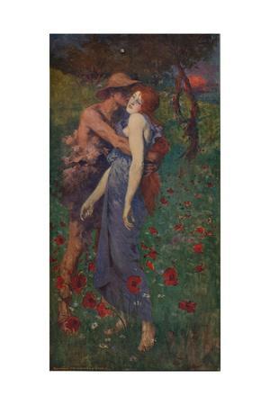 'An Idyll', 1891, (c1915)
