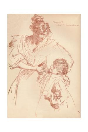 'Mother and child', c1897, (1897)