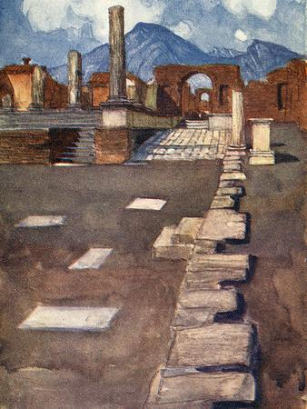Pompeii, the Forum