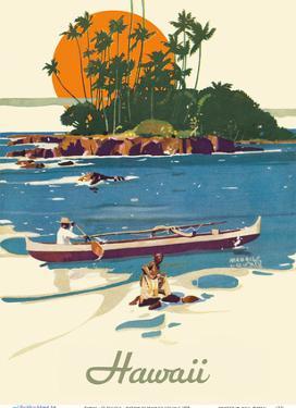 Hawaii - SS Malolo - Matson Line (Matson Navigation Company) by Maurice Logan