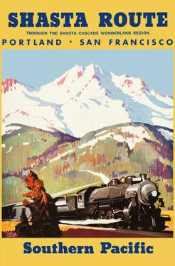 Portland To San Francisco - Shasta Route through the Shasta-Cascade Wonderland Region by Maurice Logan