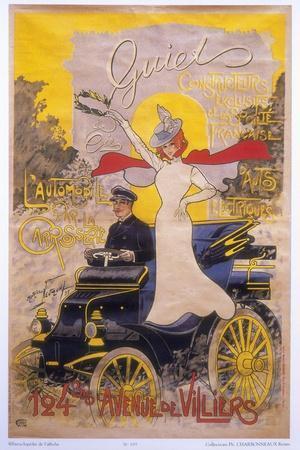 Poster Advertising Car Coachwork, 1899