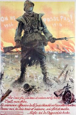 They Shall Not Pass! 1914-1918, 1918 by Maurice Neumont