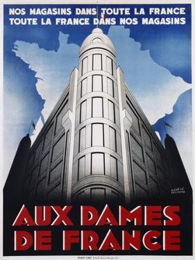 Aux Dames De France Poster by Maurice Pecnard