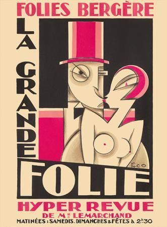 Folies Bergere - La Grande Folie - Hyper Revue de (of) Mr. Lemarchand by Maurice Picaud