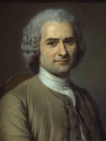 Jean-Jacques Rousseau by Maurice Quentin de La Tour